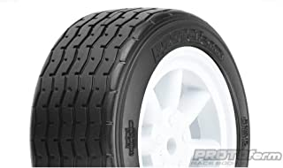 Protoform - Pro-line Racing VTA Front Tire 26mm Mounted White Wheel, PRM1014017