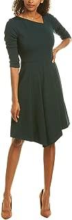 Womens A-Line Dress, 12, Green