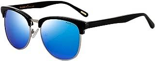 Polarized Sunglasses Semi Rimless PARZIN Women Vintage Cateye Eyewear