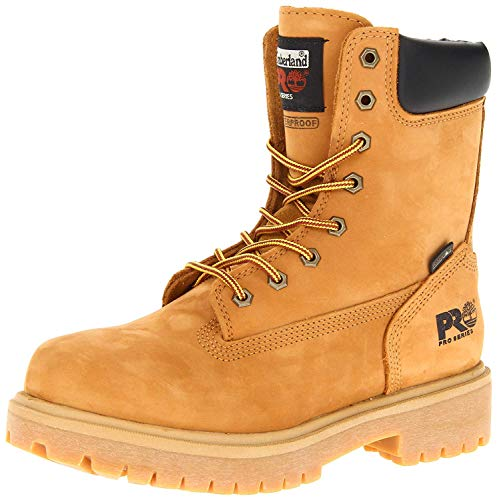 "Timberland PRO Men's Wheat 26011 Direct Attach 8"" Soft-Toe Boot,Yellow,11 W"