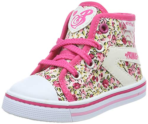 Primigi Pbu 34455, Sneakers Basses bébé Fille, Rose (Panna 3445500), 25 EU