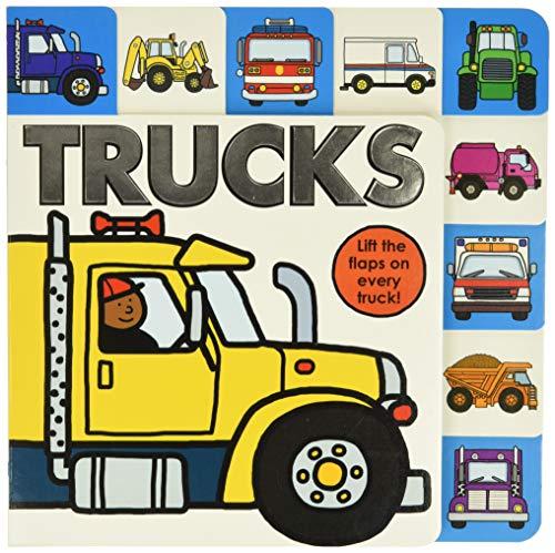 Lift-the-Flap Tab: Trucks (Lift-the-Flap Tab Books)
