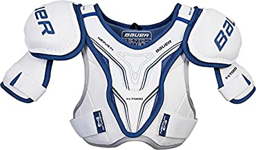 Bauer Hockey Nexus N7000 Ice Hockey Junior Shoulder Pads, Adjustable Fit, S-L