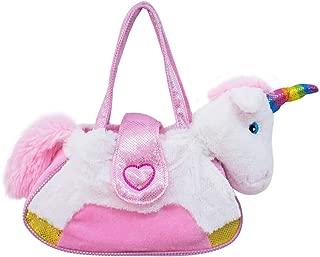 """Bolsa Unicornio 10"""" Branco, Foffylandia, Branca, UNICO"""