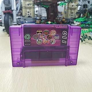 Game Card Super 110 in 1 Game Cartridge FRAM Chip Save File Chrono Trigger Zeldaed Link Soul Blazer Earthbound Contra III Killer Instinct