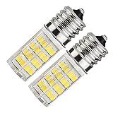 IAlight E17 LED T7 T8 base intermedia LED T8 T7 foco de luz regulable 110 voltios - 130 voltios para electrodomésticos, horno de microondas, luz de estufa, equivalente a foco incandescente de...