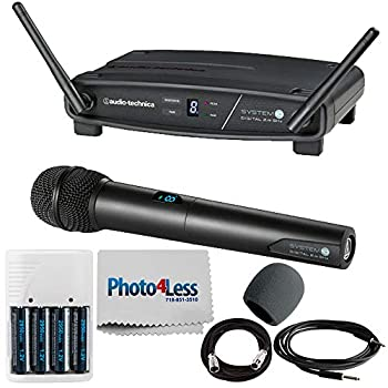Audio-Technica System 10 ATW-1102 Wireless Handheld Microphone System + Cables + Accessories review