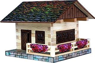 Walachia 8594036430341 – nr 34 almhatt trä modellbyggsats, modellbana spår 1/LGB 1:32