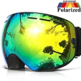 COPOZZ Ski Goggles, G1 OTG Snowboard Snow Goggles for Men Women Youth, Interchangeable Double Layer...