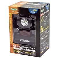 日動 充電式LEDヘッドライト バックライト付 950lm SHL-8W-BL-CH