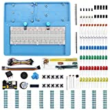 Makeronics 7-in-1 RAB Holder + 830 Tie-Points Breadboard+Electronics Fun Kit | Power Supply Module | Precision Potentiometer | Jumper Wires for Prototyping Circuit/Arduino/Raspberry Pi
