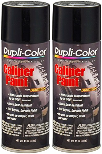 Dupli-Color BCP102 Gloss Black Caliper Paint with...