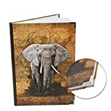 Logbuch-Verlag Notizbuch groß Afrika Elefant...