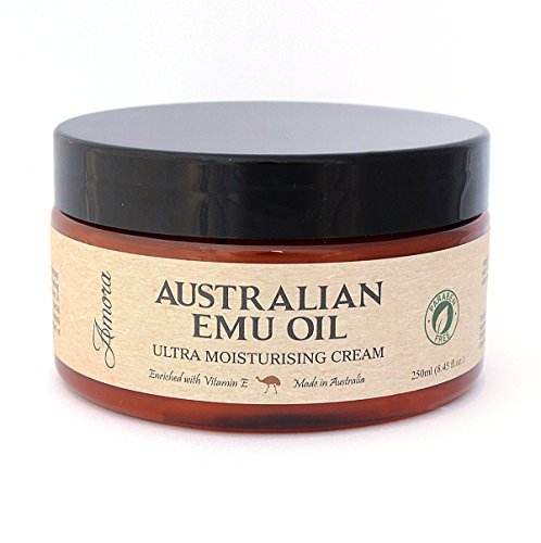 Paraben-Free australiano Crema Emu Oil Ultra idratante (250ml) Fatto in Australia