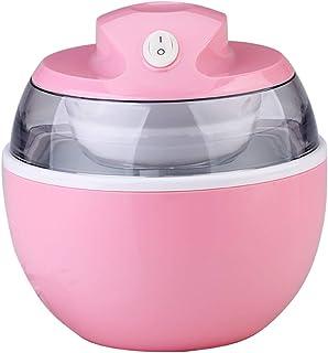 600ml Home Ice Cream Maker Machine -Household Fast Yogurt Ice Making Machine Small Mini Ice Cream Machine- Easy to Operate...
