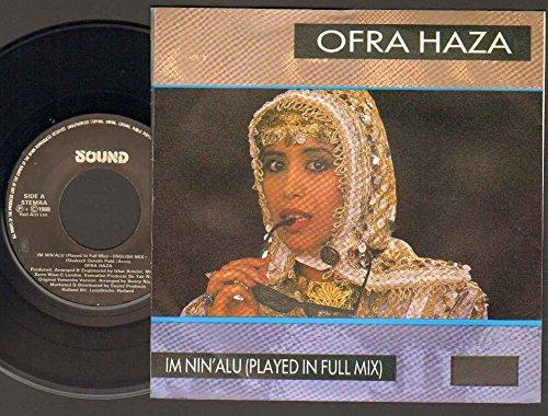 OFRA HAZA - IM NIN ALU - played in full mix - 7 inch vinyl / 45 record