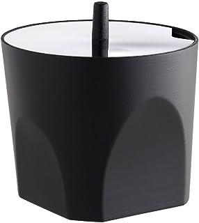 Pulido de Espejo Negro Alessi Sugar Bowl en Resina termopl/ástica y Acero Inoxidable 18//10 8,5/x 8,5/x 9,5/cm