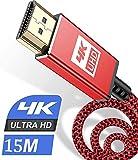 Seguard - Cable HDMI 4K a 60 Hz, 18 Gbps, cable HDMI 2.0 de alta velocidad, conectores dorados con Ethernet y canal de retorno de audio, compatible con vídeo 4K UHD 2160p, HD 1080p