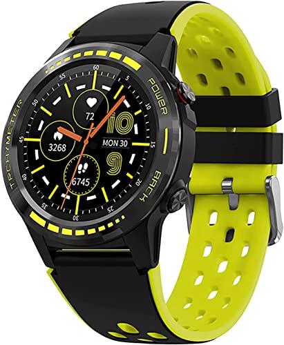 CNZZY M7S Smart Watch Sim Card Telefono Smart Watch GPS Smartwatch Bussola Barometro Altitudine Sport Altitudine Impermeabile Smart Watch Uomo Fitness Tracker (B)