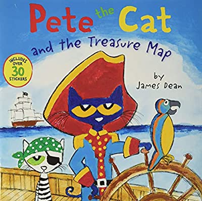 Super cute and funny book with Captain Pete! Pete the Cat and the Treasure Map. Perfect for pirate fans!