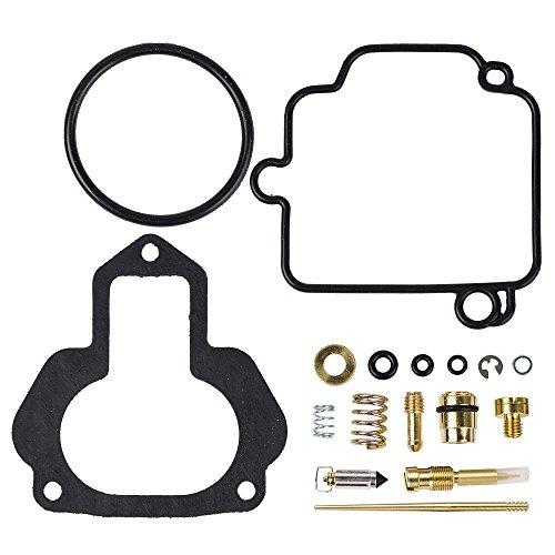 Ouyfilters Carburateur Rebuild kit réparation de carburateur pour Yamaha ATV X Yfm350 YFM 350 x Warrior 350 88–04 (1988 1989 1990 1991 1992 1993 1994 1995 1996 1997 1998 1999 2000 2001 2002 2003 2004)