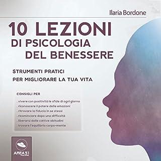 10 lezioni di psicologia del benessere copertina
