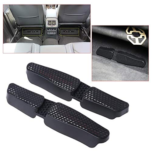 YSDHE 2 Stück Auto Rücksitz Klimaanlage Entlüftungsauslassabdeckung for for Audi A3 S3 Sitz Leon 5F