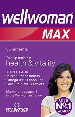 Vitabiotics Wellwoman Max, 84 Capsules