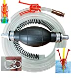 Siphon Pro XL - Largest Siphon for Water - Gas - Diesel - SEE VIDEO - It's a Pump or Siphon –...