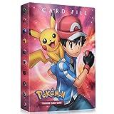 FGen Pokemon Cartas Álbum, Álbum de Pokemon, Comercio Tarjeta Álbum, GX y EX Cartas Pokemon Álbum, Carpeta de Titular de Tarjetas de Pokemon, Pokemon Cards Album Protección