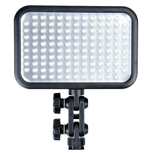 Godox LED126 vídeo Hot Shoe Light para cámara de vídeo DSLR Canon/Nikon/Pentax