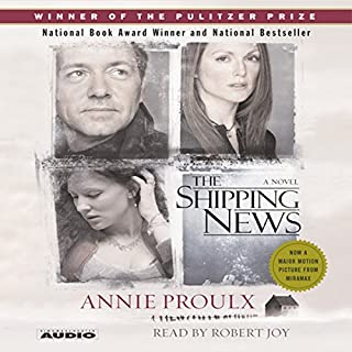 The Shipping News audiobook cover art