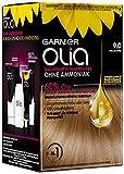 Garnier Olia Haar Coloration Hellblond 9.0 / Färbung für Haare enthält 60% Blumen-Öle für...