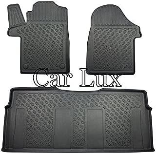 901924-13B-825015 Kit tappeti auto e protezione baule gomma colore nero
