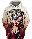 Harley Loves Deadpool All Over Printed Pefect 3D Hoodie, Zip Hoodie, Sweatshirt, T-Shirt