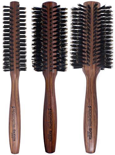 Spornette DeVille Boar Bristle Round Brush Set