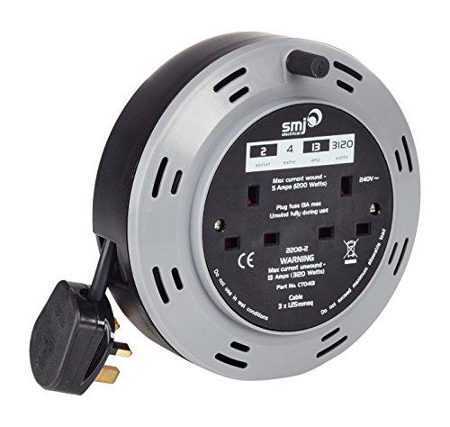 SMJ CP0413 13 A 4 m REEL PRO thermique Câble Reel
