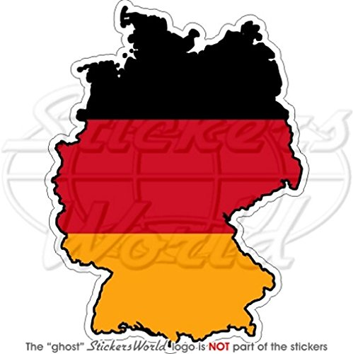 DUITSLAND German Map-Flag Deutschland 4.3