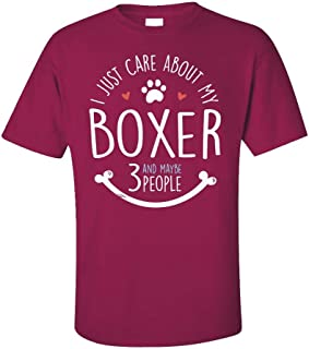 My Family Tee Cute Boxer Dog for Owners - Unisex T-Shirt