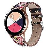 Correa de Cuero Compatible con Huawei Watch GT/GT2...