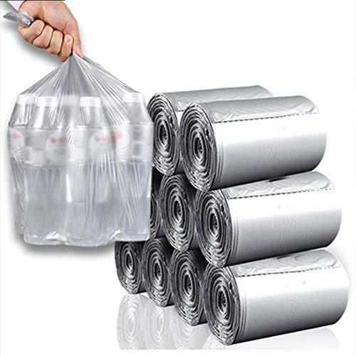 JiDan Bolsas de basura3 Piezas de protección de Plantas Bolsa de Basura Grande 110 Rollo único desechable hogar Diario Bolsa de Basura de plástico Plano Engrosamiento al por Mayor