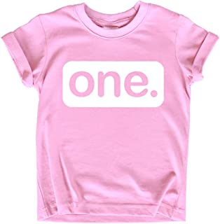 First Birthday Outfit Girl 1st Birthday Girl Shirt one Year Old Baby Girls Gifts