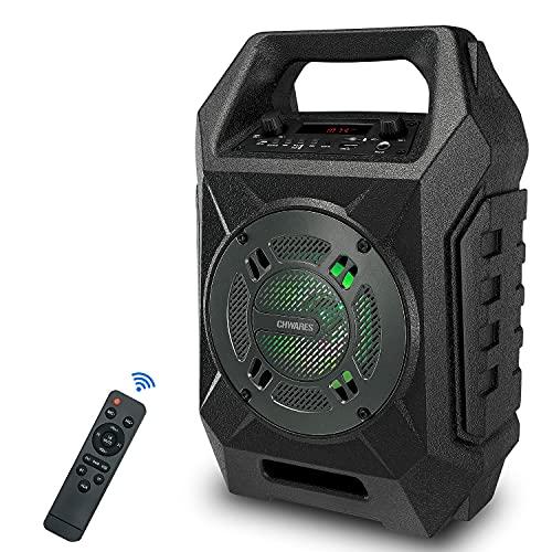 Bluetooth Lautsprecher 20W Tragbarer Kabelloser Lautsprecher mit Subwoofer,...