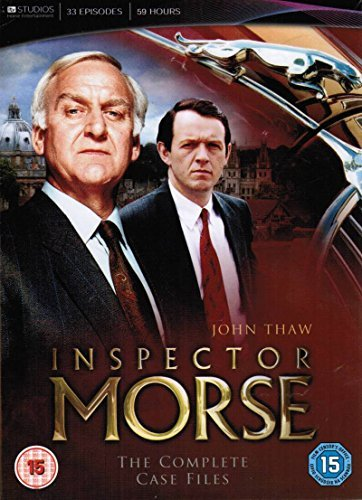 Inspector Morse - Complete Case Files (33 Episodes) - 18-DVD Box Set [ Origen UK, Ningun Idioma Espanol ]