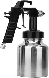 SG-112 Pistola Pintura,1.3mm Neumática Succión Profesional Pistola Pulverizadora de Pintura con Boquilla para Esmalte, Poliuretano en Aerosol,Acrílico,Recubrimiento de Metal