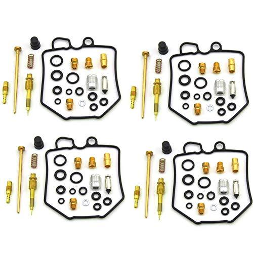 4X Carb Carburetor Rebuild Repair Kit Fit for Honda 1980-1982 CB750 CB750C CB750K CB750SC