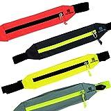 Nonbak Cintura idratazione Cintura Chiusura con Zip Cintura Riflettente 100% 4 Colori (Gri...