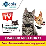 LOCALIZ Lookat Traceur GPS pour Chat et Chien. Le Traceur GPS utilisé dans...