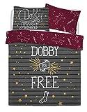 Warner Bros Harry Potter Dobby Elf Juego de Cama, Multicolor, Doublé