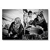 Premium Textil-Leinwand 90 x 60 cm Quer-Format Syrische